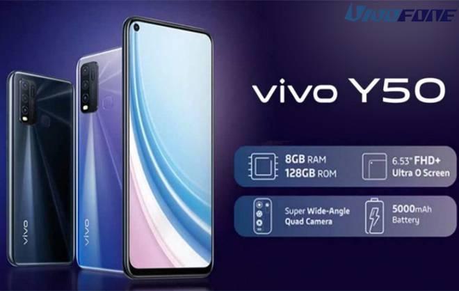 Desain Vivo Y50