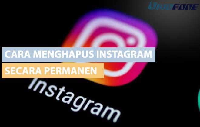 Cara Menghapus instagram secara permanen