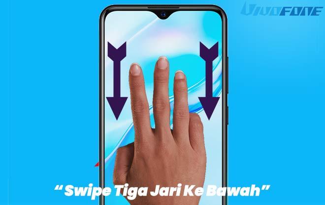 Swipe 3 Jari Ke Bawah