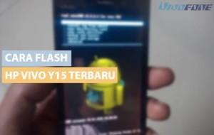 cara flash Vivo Y15 terbaru