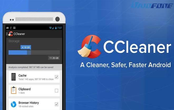 Cara menghapus cache dengan aplikasi CCleaner