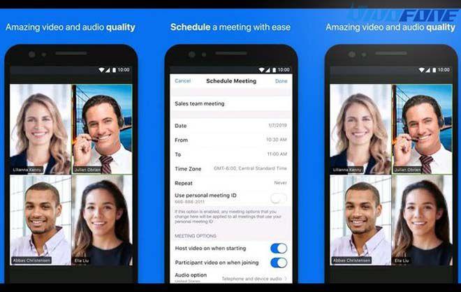 Cara Mengganti Background Zoom di HP Vivo